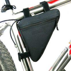Sacoche cadre vélo