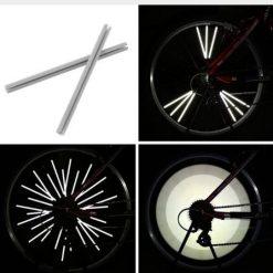 Reflecteur roue vélo