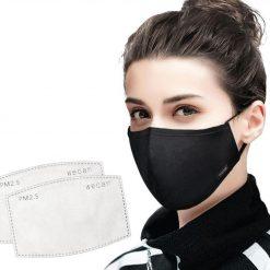 Masque femme avec filtre